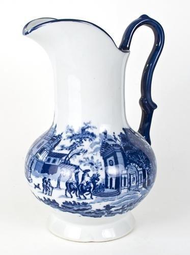 10: Brocca inglese in ceramica