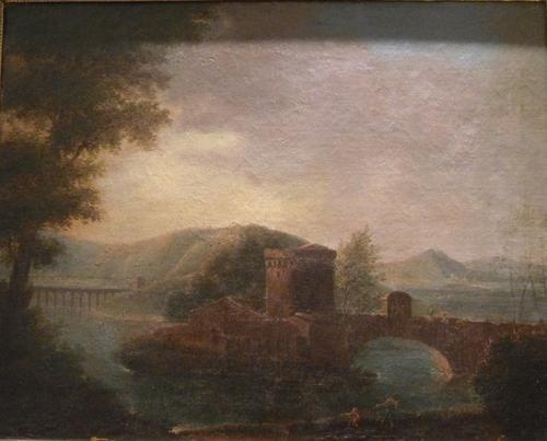 2: Scuola dell'Italia centrale, secolo XVIII Paesaggi