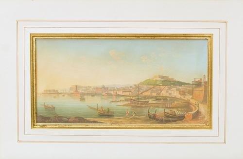 4: Scuola italiana Veduta del Golfo di Napoli con il