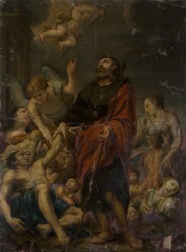 10: Scuola veneta, seconda metà del secolo XVII San Ro