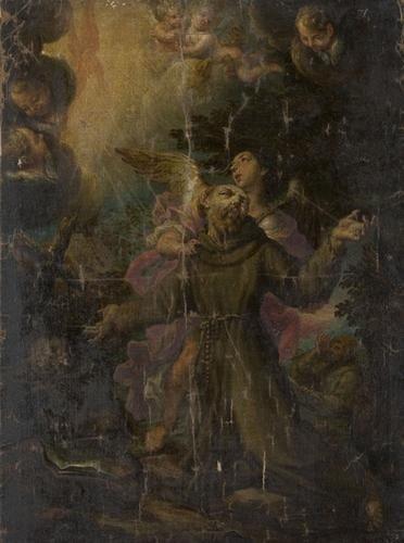 11: Scuola veneta, seconda metà del secolo XVII Estasi