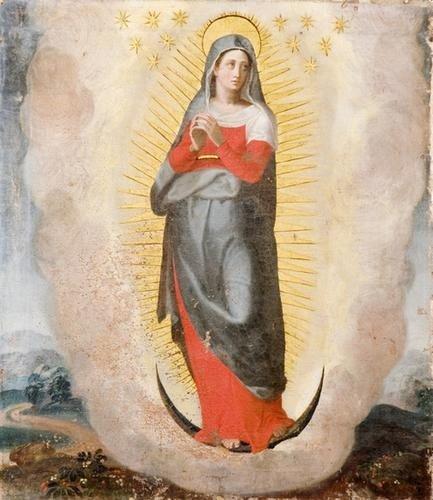 12: Pittore popolare italiano, secolo XIX Immacolata