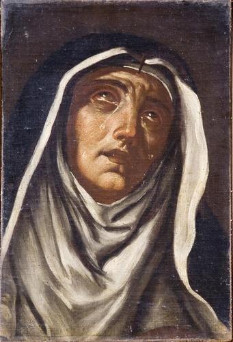 23: Cerchia di Giacinto Brandi  (Roma 1621-1691)  Sant