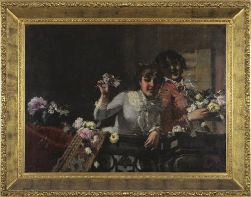 97: Virgilio Ripari (Asolo 1843-Milano 1902) Fiori per