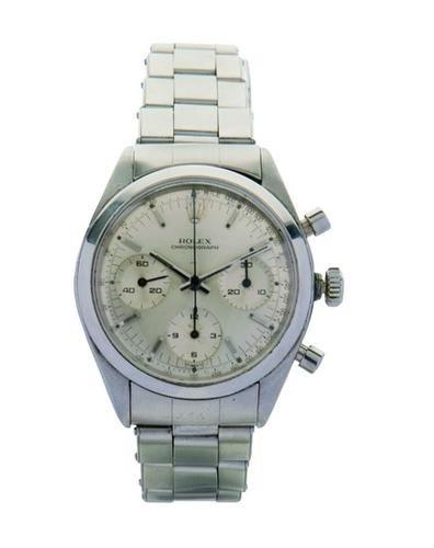 18: Rolex, a gentleman's stainless steel wristwatch, r