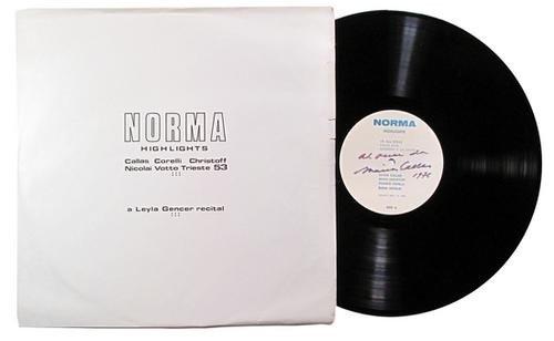 12: Callas, Maria. Norma Highlights.