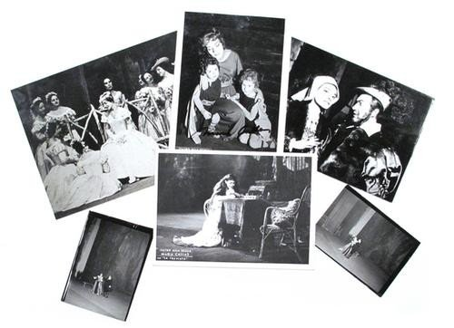 13: Callas, Maria.  Serie di foto della Callas.
