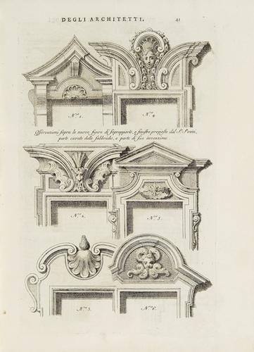163: Architettura - Visentini, Antonio & Gallaccini, Te