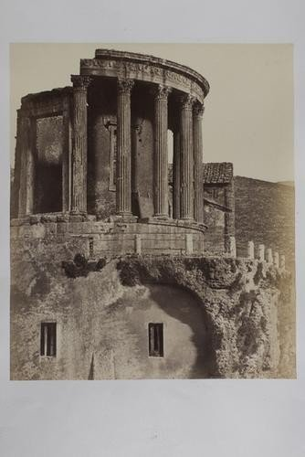 21: Robert Macpherson (1815-1872) Temple of the Sibyl.