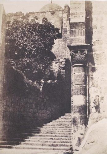 "302: Auguste Salzmann (1824-1872) ""Jerusalem, Protuctio"