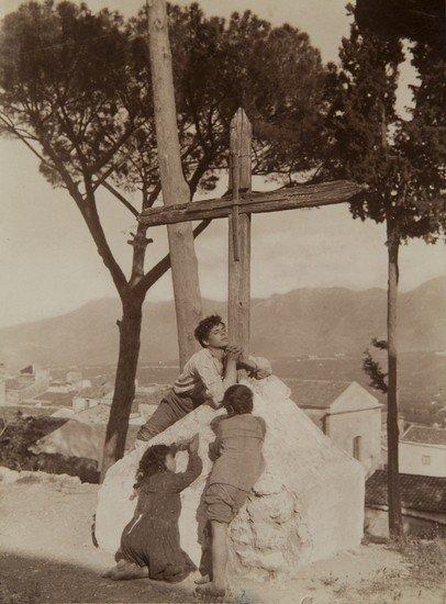 313: Wilhelm Von Gloeden (1856-1931) Untitled (Sicily)