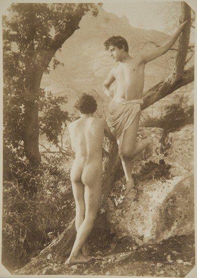 316: Wilhelm Von Gloeden (1856-1931) Untitled (Young bo