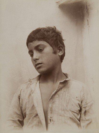 318: Wilhelm Von Gloeden (1856-1931) Untitled (Portrait