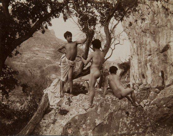 319: Wilhelm Von Gloeden (1856-1931) Untitled (Young bo