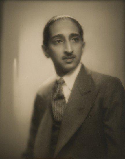 323: Man Ray (1890-1976) Maharadjah d'Indore Yashwant R