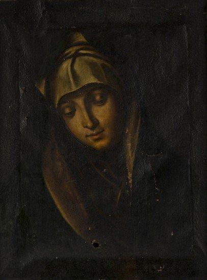 2: Scuola italiana, secolo XVII  Madonna in preghiera