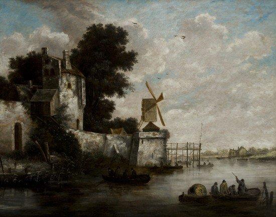8: Salomon van Ruysdael  (Naarden 1600 - Haarlem 1670