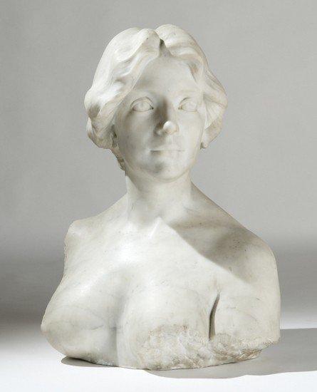 1: Dario Rebagliati (1875 circa - 1927) Busto di giov