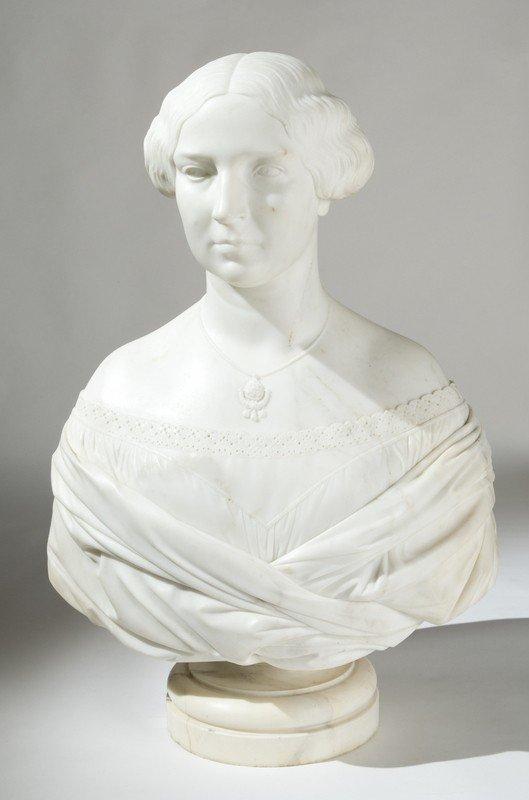 2: Giovanni Duprè (1817-1882) Busto di donna