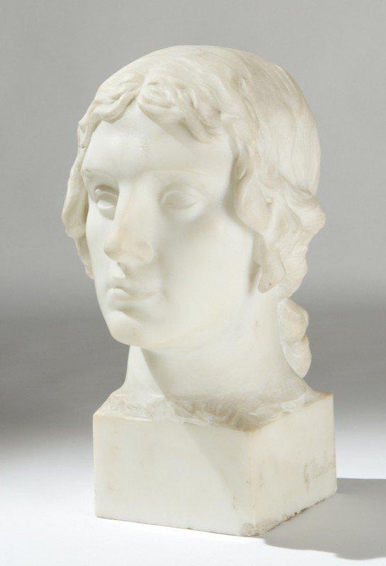 3: Giovanni Nicolini (1872-1956)   Testa di giovane A