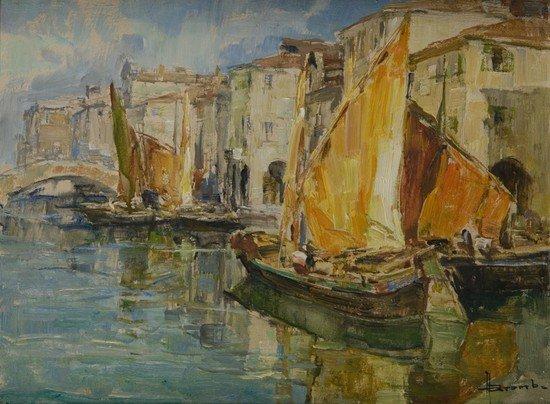 11: Angelo Brombo (Chioggia, 1893 - Padova 1962 ) Vene