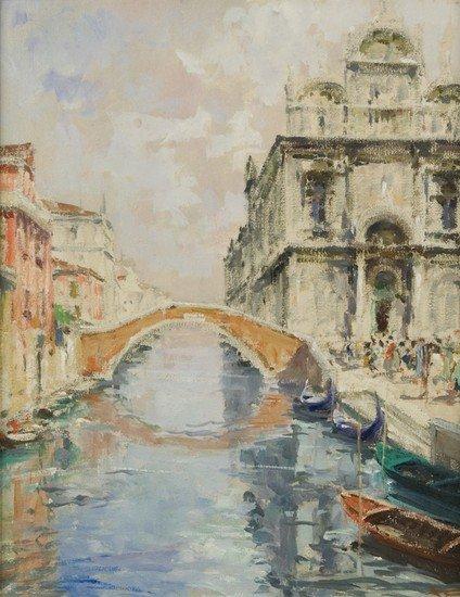 12: Luigi Pagan (Chioggia 1907 - 1980) Rio veneziano