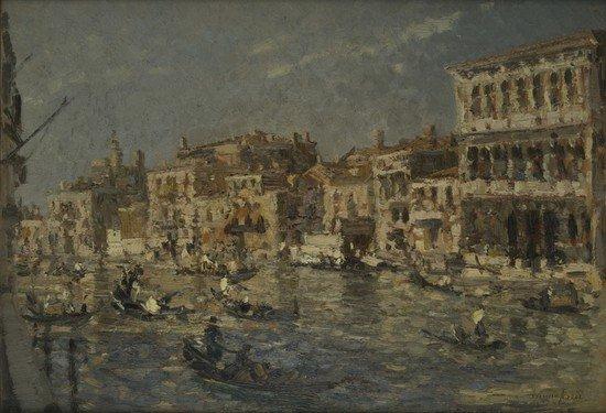 13: Emma Ciardi (Venezia, 1879-1933) 'Canal Grande'