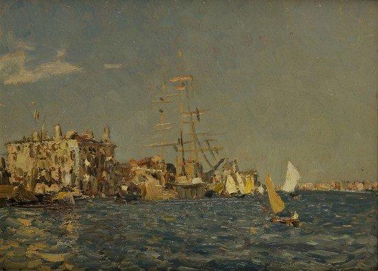 18: Emma Ciardi (Venezia 1879-1933) Venezia
