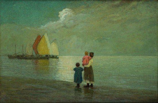 22: Pietro Fragiacomo (Trieste 1856 - Venezia 1922)  '