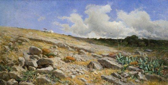 23: Antonio Valdoni (1834-1890)  Nell'isola di Capri
