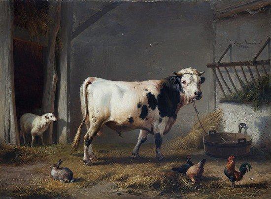 43: Eugène Verboeckhoven (Warneton 1798 - Bruxelles 18