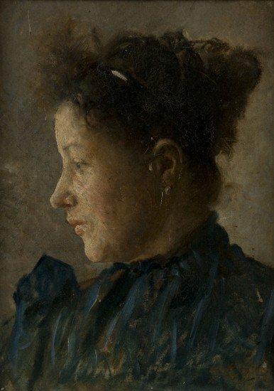 50: Cesare Ciani (Firenze, 1854 - 1925)   Ritratto del