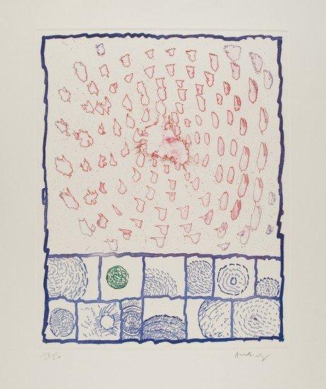 3: Pierre Alechinsky (Bruxelles, 1927) Senza titolo,