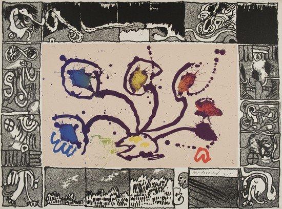 4: Pierre Alechinsky (Bruxelles, 1927)  Tribord, 1969