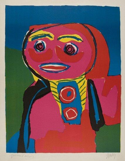 10: Karel Appel (Amsterdam, 1921 - Zurigo, 2006)   Per