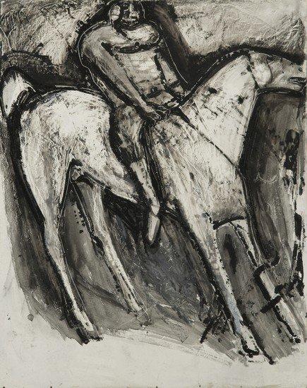 284: Marino Marini (Seggiano, 1924 - Milano, 1997) Cava