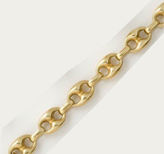 16: Bracciale in oro giallo 18 kt