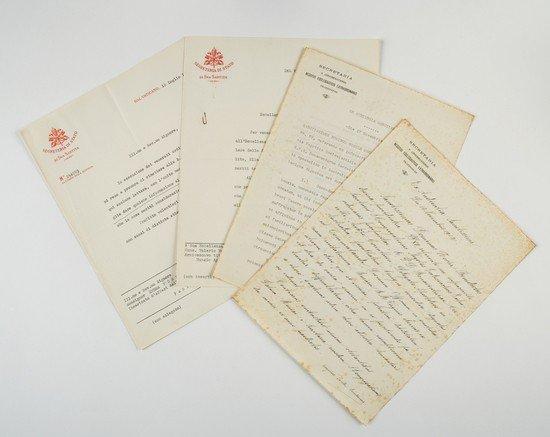 5: Cardinale Eugenio Pacelli (Papa Pio XII).  Lettere