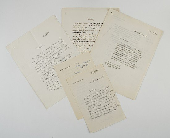 19: Guitton, Jean. Lettere autografe e dattiloscritte.