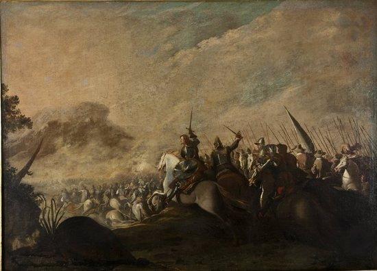 64: Aniello Falcone (Napoli 1600 o 1607 - 1665) Scontr
