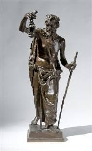 68: Eugène Marioton (1854 - 1933) Diogene