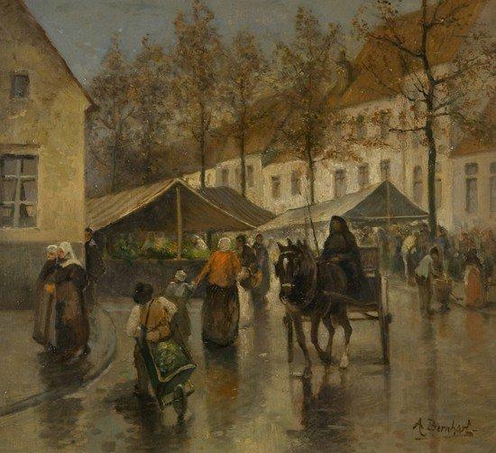199: A. Bernhart (Scuola europea inizi del XX secolo) A