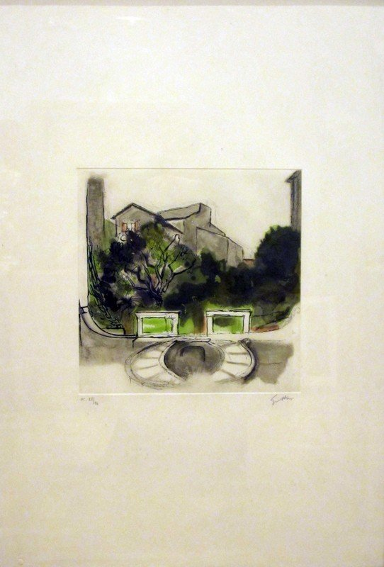 213: Renato Guttuso (Bagheria,  1911 - Roma, 1987) Pala