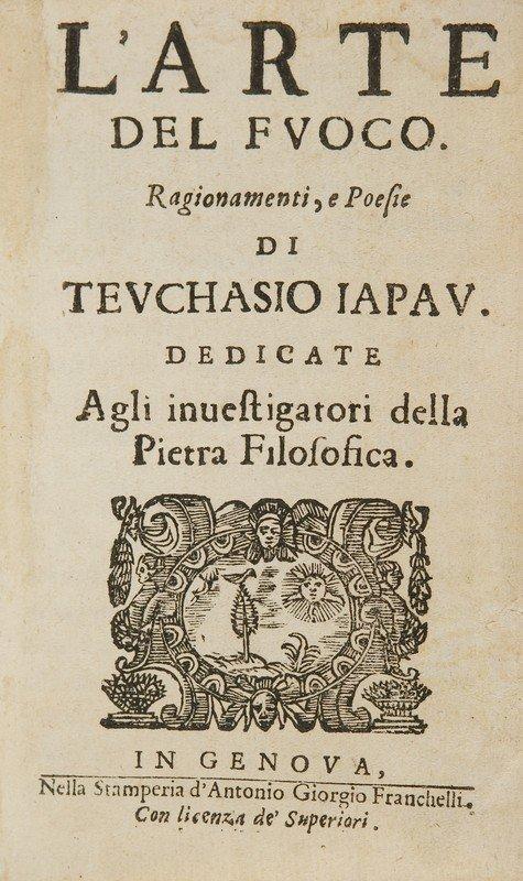 4: Alchimia - Pavia, Eustachio. L'arte del fuoco. Rag