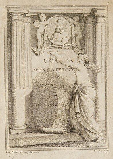 11: Architettura - D'Aviler, Augustin-Charles.  Cours