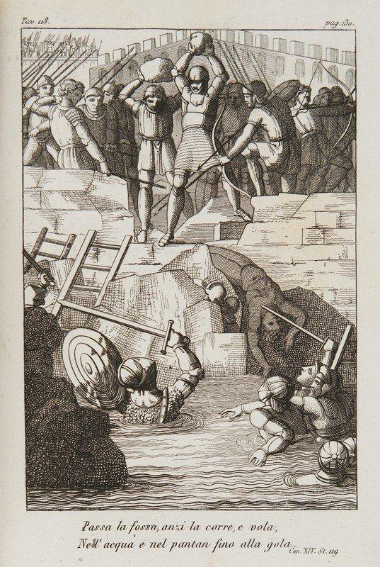 14: Ariosto, Ludovico. L'Orlando furioso.