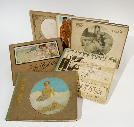 "15: Art Nouveau. ""Novissima"" - Rivista d'Arti e Letter"