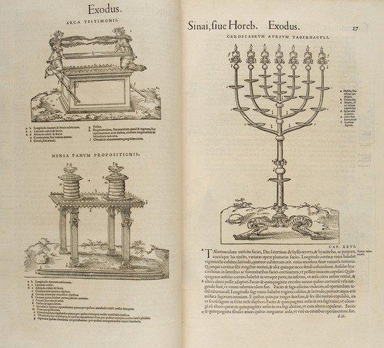 22: Bibbia. Biblia Hebraea, Chaldaea, Graeca & Latina.
