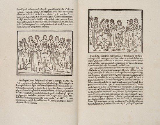 157: Incunabolo - Colonna, Francesco. Hypnerotomachia P