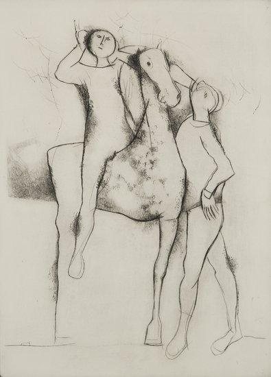 7: Marino Marini (Seggiano, 1924 - Milano, 1997) Appa